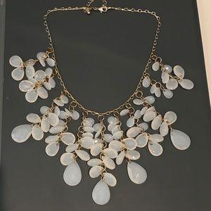 Jewelry - White stone necklace